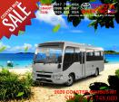 Toyota Coaster New Mini Shuttle Manual 2020