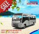 Toyota Coaster New 4th Gen 29s Manual 2020