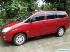 Toyota Innova Manual 2007