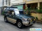 Mitsubishi Pajero Manual 2001