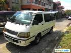 Toyota Hiace Manual 1997