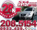 Suzuki SX4 Automatic 2011