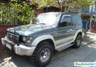 Mitsubishi Pajero Manual 2002