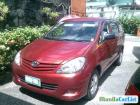 Toyota Innova Manual 2009