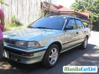 Picture of Toyota Corolla Manual 1992