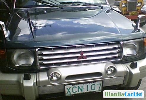 Picture of Mitsubishi Pajero Manual 1997
