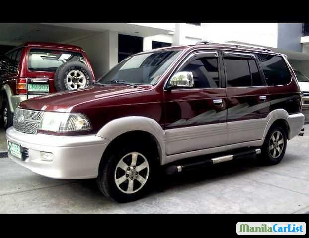 Picture of Toyota RAV4 Manual 2002